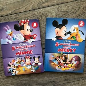 Other - Mickey and Minnie 5 Minute Stories Books